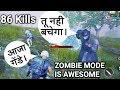 86 kills in zombie mode of pubg mobile mp3