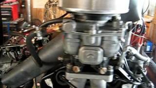porsche 356 moteur en rodage