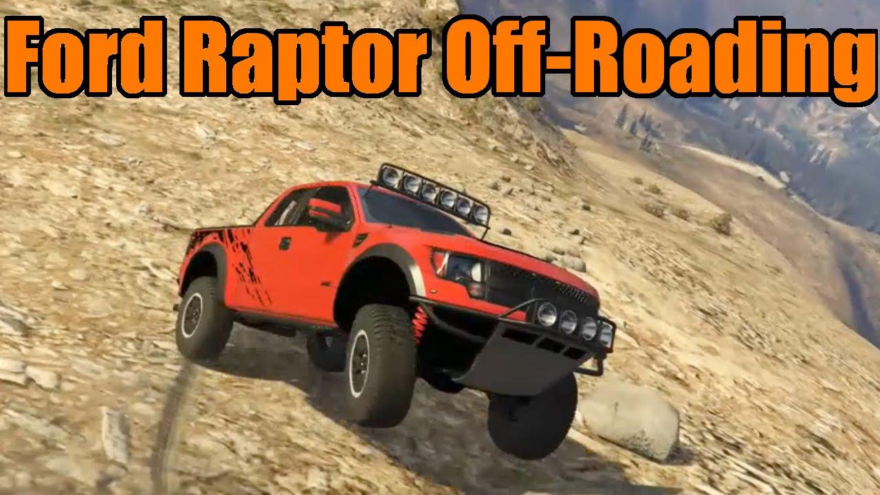 gta 5 ford raptor full build and off roading challenge youtube. Black Bedroom Furniture Sets. Home Design Ideas