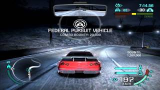 Need For Speed: Carbon - Challenge Series #18 - Pursuit Evasion (Gold)