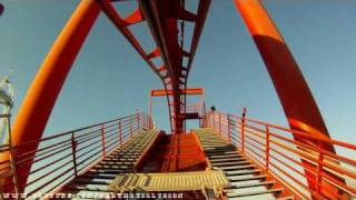 Silver Bullet On-ride Front Seat (HD POV) Knotts Berry Farm