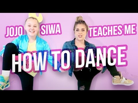 JOJO SIWA TEACHES ME HOW TO DANCE | Baby Ariel