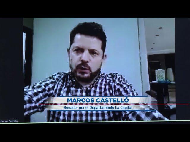 (Adelanto) Marcos Castelló, senador provincial por el departamento La capital - ABC1 09 08 2020