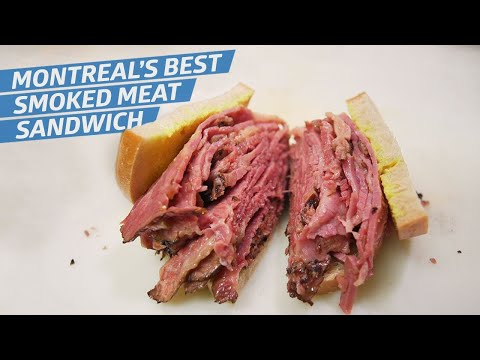 This Is Montreal's Best Smoked Meat Sandwich — Dining On A Dime