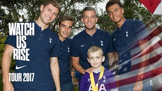 MAGICAL DISNEY SURPRISE FOR YOUNG SPURS FAN