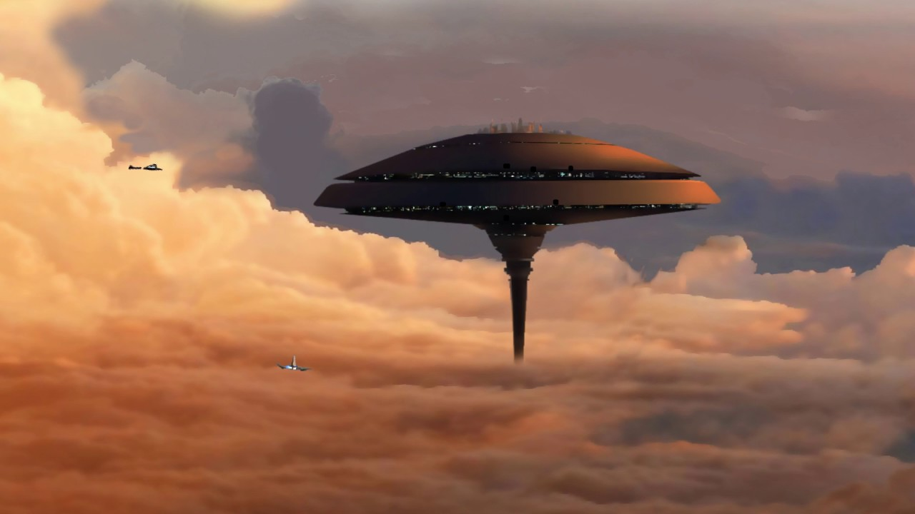 Cloud City - NASA Concept Art animation with Holst's ...