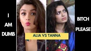 Alia Bhatt Vs Karishma Tanna......Dumbness test!!