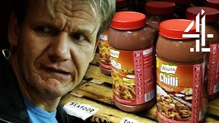 Ramsay CAN'T BELIEVE Chef Only Uses Store-Bought Sauces! | Ramsay's Kitchen Nightmares