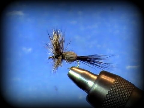 Fly Tying: Humpy Dry Fly with Uncle John