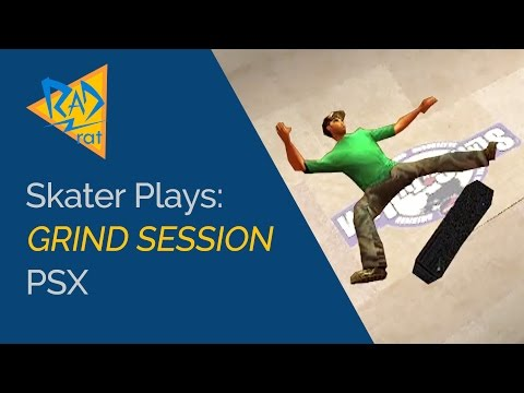 Grind Session (PSX) Ed Templeton Takes on Detroit - Skater Plays