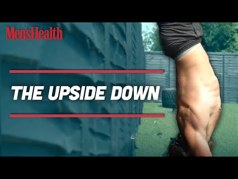Work Through Our 10-Minute 'Upside Down' Finisher to Build Stronger Shoulders and Harder Abs