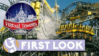 🏰 Virtual Towers Online First Look Gameplay | Let