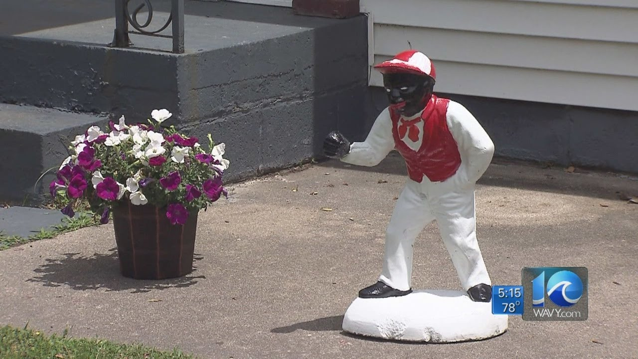 Andy Fox Reports On Lawn Jockey Controversy Youtube