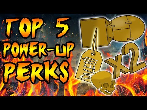 Top 5 BEST Power Ups! Call of Duty Zombies Black Ops 3, BO2, BO & WAW Gameplay