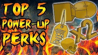 Top 5 BEST Power Ups! Call of Duty Zombies Black Ops 3, BO2, BO & WAW Gameplay thumbnail