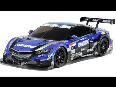Rc Electric Cars Race Drift Honda Nsx Raybrig Tamiya Tt Youtube