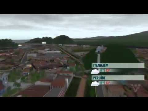 Baixada Santista Em 3D - Previsão Do Tempo Da TV Tribuna/Santos
