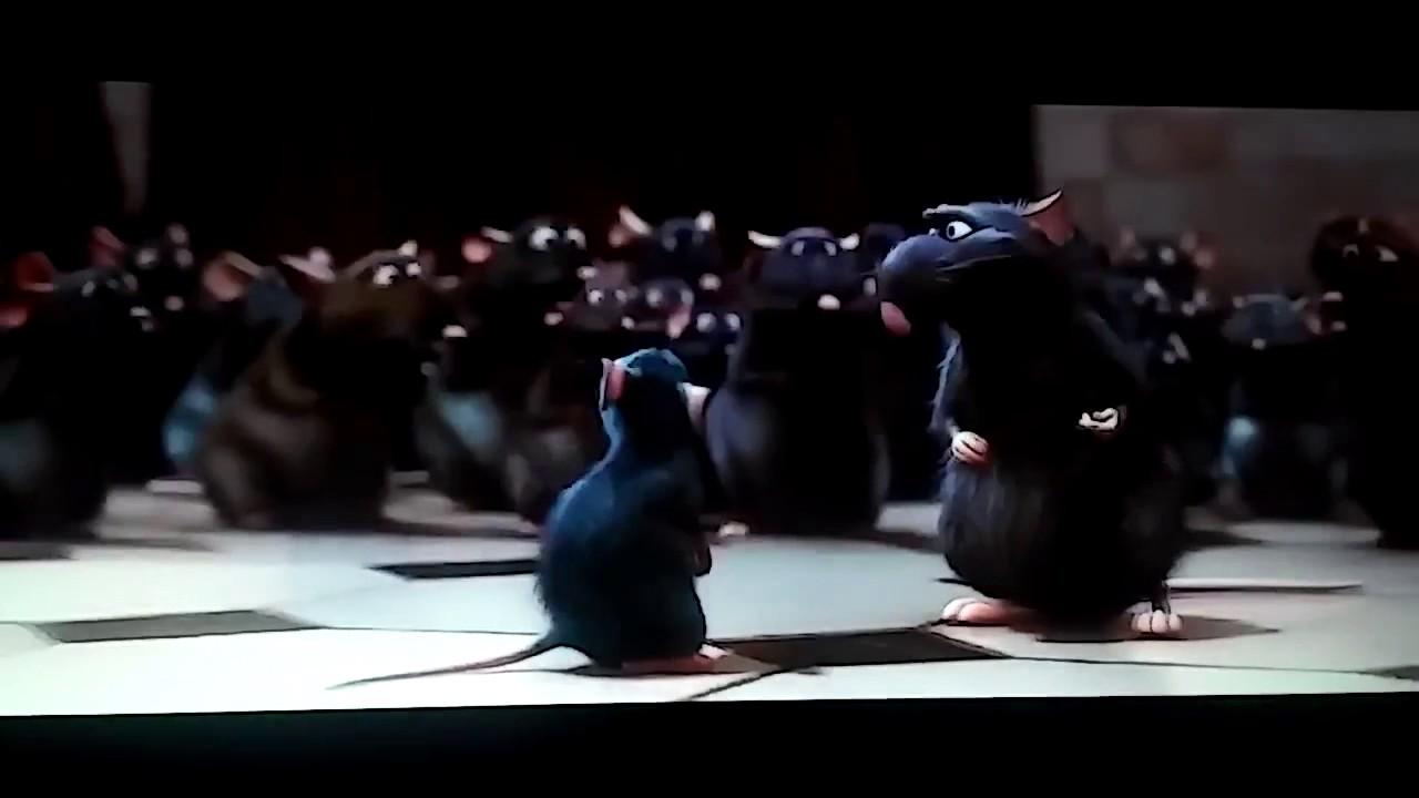 Ratatouille Health Inspector Scene Youtube