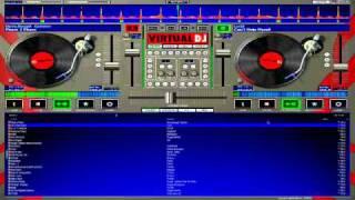 Hardcore techno Mix on Hercules DJ Control MP3 e2