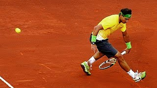 Rafael Nadal ● Genius Improvisations In Grand Slam (HD)