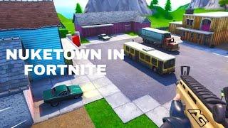 I Made Nuketown In Fortnite Creative! Code- 8223-7832-0339