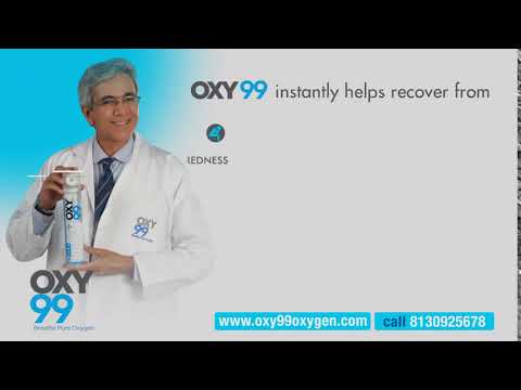 OXY99 Portable Oxygen Instantly Helps Reduce The Toxic Effects Of Air Pollution