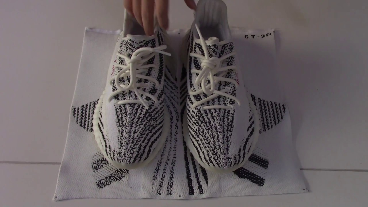 3dbe3bb27ff God Version Yeezy 350 V2 Zebra From Beyourjordans.CA - YouTube