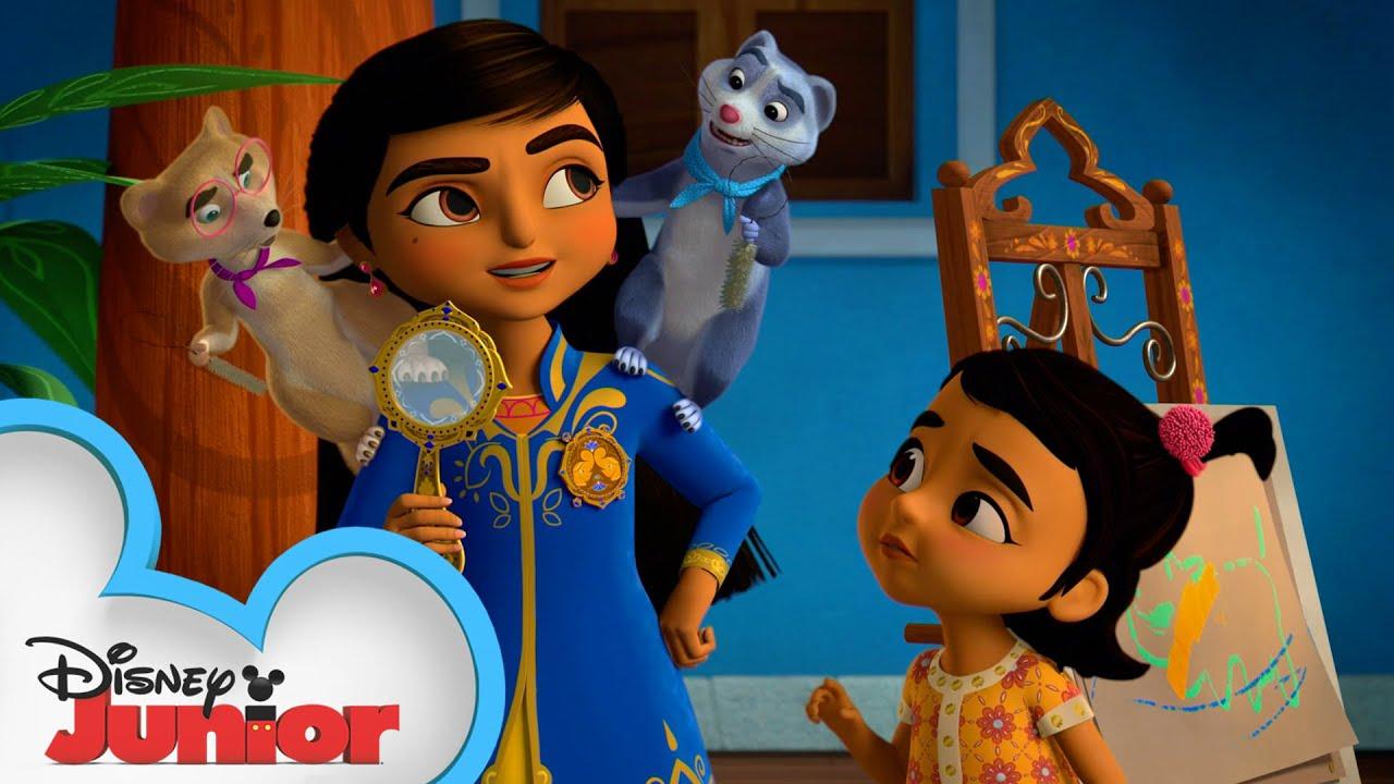 Mikku and Chikku to the Rescue   Mira, Royal Detective   Disney Junior