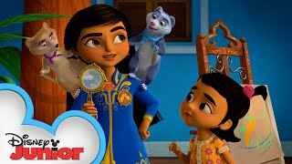 Mikku and Chikku to the Rescue | Mira, Royal Detective | Disney Junior