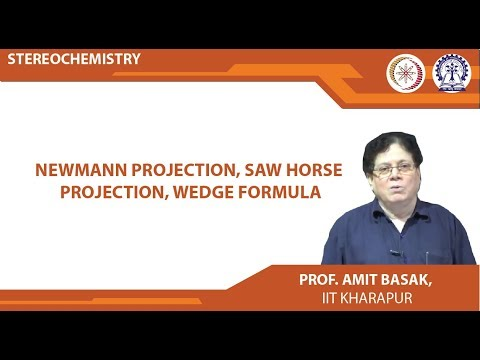 Newmann Projection, Saw Horse Projection, Wedge Formula