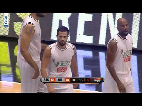Alfa Basketball Championship - Sagesse v Beirut - Georges Yves-Daaboul Basket