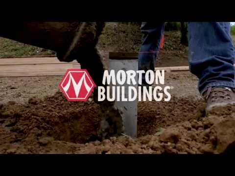 Morton Buildings Foundation System