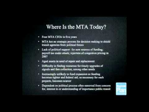 Mind the Gap: Transit Lessons from New York and London - Panel 1