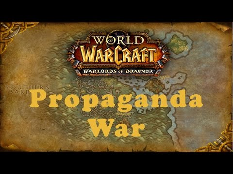 World of Warcraft Quest: Propaganda War (Alliance)