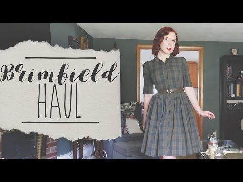 Dream Dress!    Brimfield Antique Fair Haul