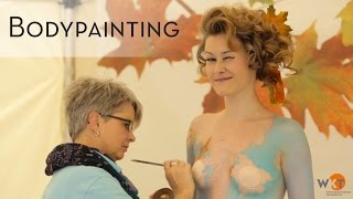 WKT Aktionstag 2015 - Bodypainting