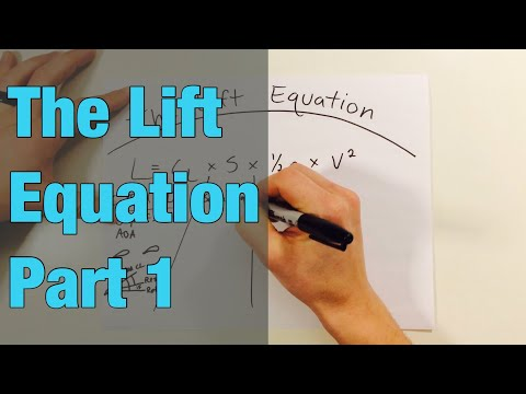 The Lift Equation - Part 1