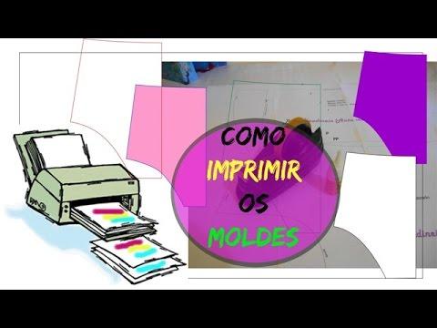 bd1d8a9974 Como Imprimir os Moldes do blog Claudineia Antunes e da Loja Camaleoa
