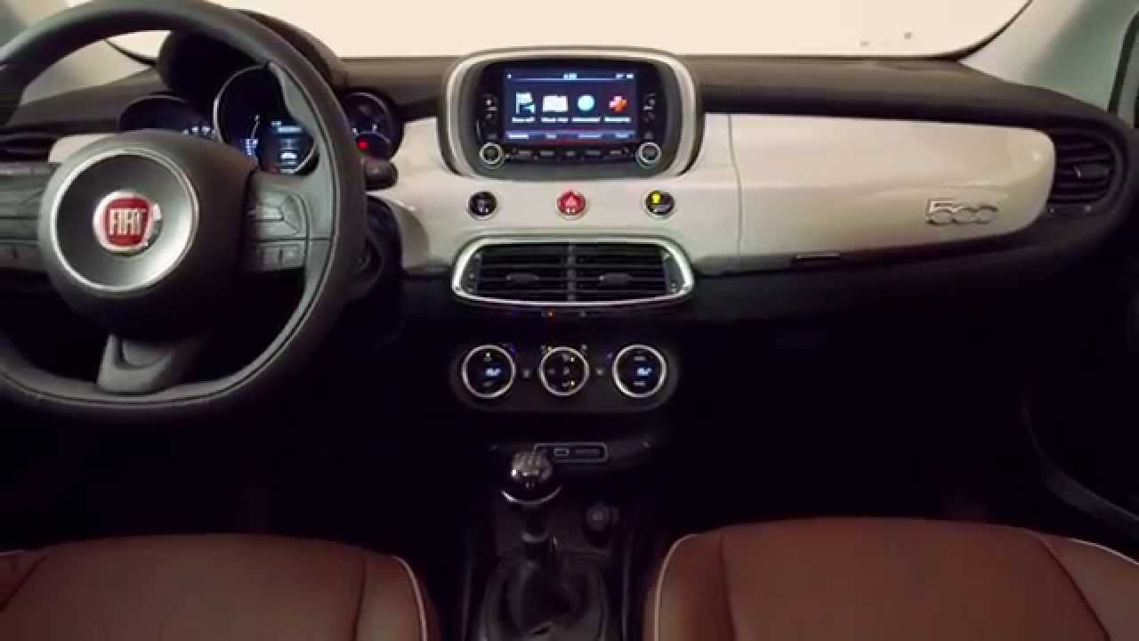 Fiat 500 2019 >> Fiat 500X - Studio and interior - YouTube