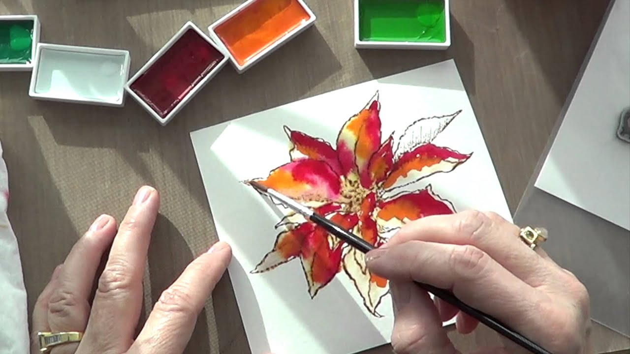 Watercoloring - YouTube
