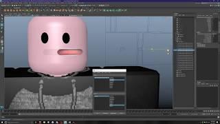 Roblox Face Rig Speedart | Autodesk Maya