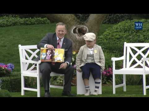 White House Easter Egg Roll: Reading Nook with Sean Spicer