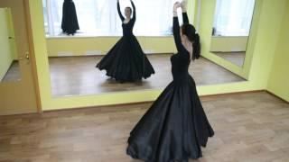 Узбекский танец. Uzbek dance. Занятия в Москве