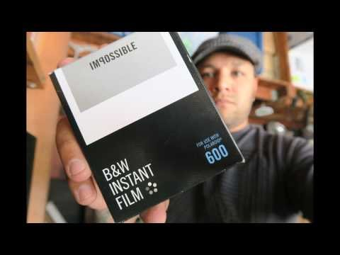 Impossible Project Black and White 600 Instant Film Testing