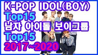 [보이그룹][KPop]남자 아이돌 순위Top15-Male Idol Brand Power Top15-男子アイド…