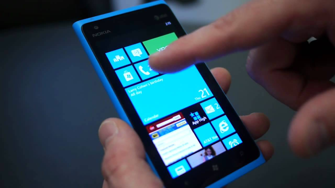 Windows Phone 8 Start Screen Demo