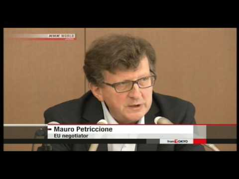 JAPAN TRY'S TO REMOVE EU TARIFFS