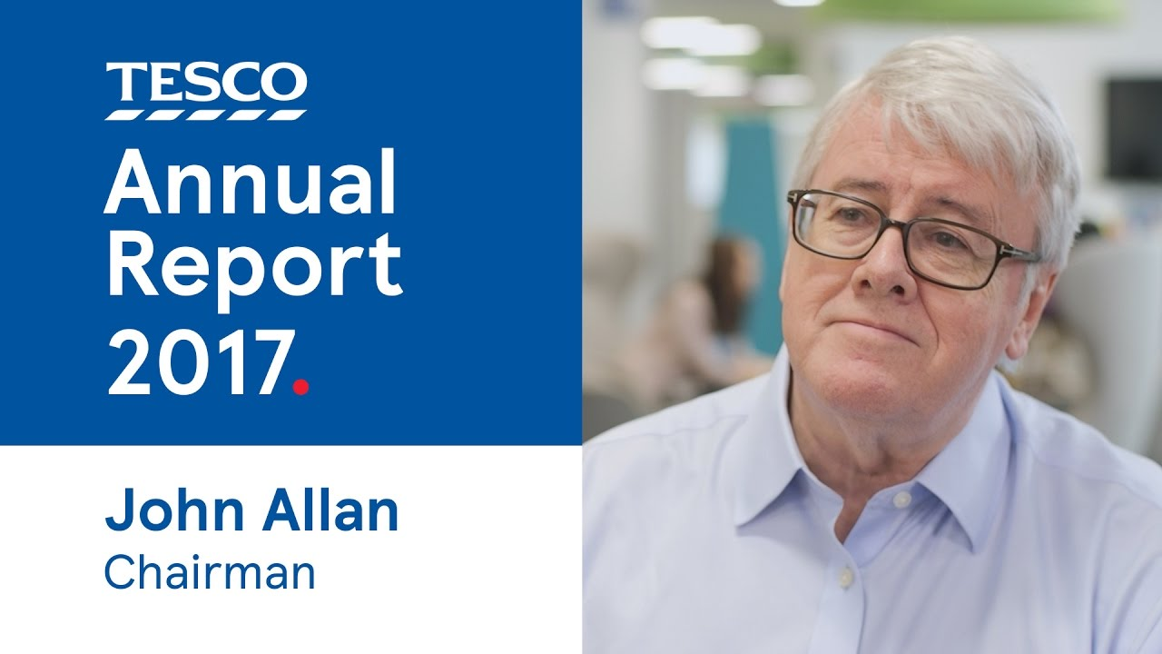 Tesco Annual Report 2016/2017 | John Allan, Chairman