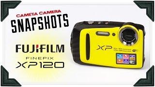 Cameta Camera SNAPSHOTS - Fujifilm Finepix XP120 Waterproof Digital Camera