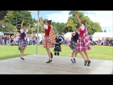 STV News - 150th Anniversary of the Aboyne Highland Games